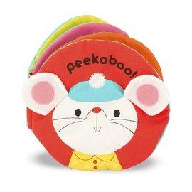 Melissa & Doug Cloth Book - Peekaboo!