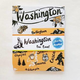 Oliotto Handmade WA State Tea Towel