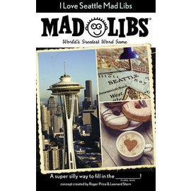 Penguin Group I Love Seattle Mad Libs