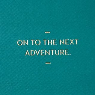 Compendium Motto Journal - On To The Next Adventure