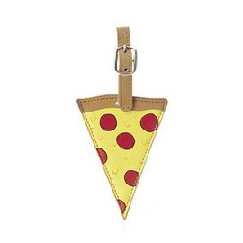 Kikkerland Design Inc Pizza Luggage Tag