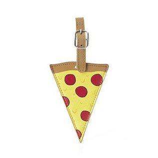 Kikkerland Design Inc Pizza Luggage Tag