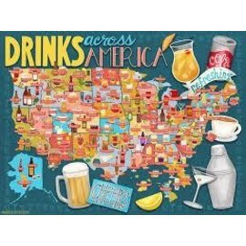 True South Puzzle Co. Drinks Across America Puzzle