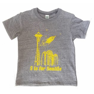 Little Orange Room S is for Seattle Toddler Tee