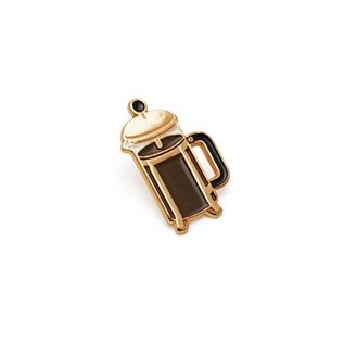 Lucky Horse Press Coffee Press Enamel Pin