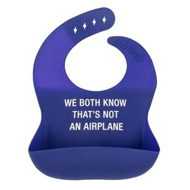 About Face Not An Airplane Bib