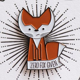 West Park Creative Enamel Pin - Zero Fox Given