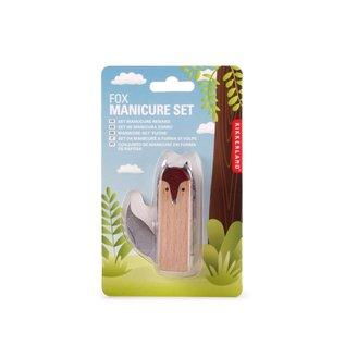 Kikkerland Design Inc Fox Manicure Set
