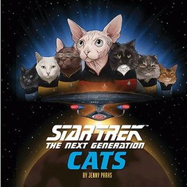 Chronicle Books Star Trek: TNG Cats