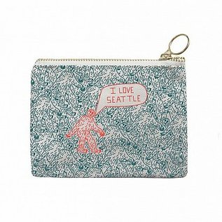 Maptote Seattle Coin Pouch