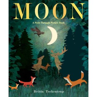 Penguin Group Moon: A Peek-Through Picture Book