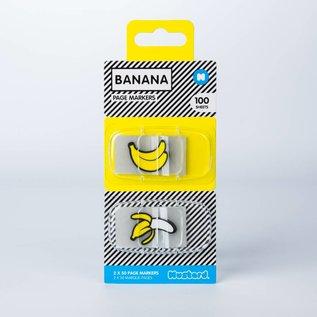 Mustard Banana Page Markers