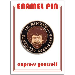 The Found Bob Ross Enamel Pin