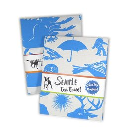 Oliotto Handmade Seattle Otomi Tea Towel