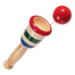 Toysmith DNR Mini Wooden Catch Ball