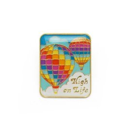 Lucky Horse Press High On Life Enamel Pin