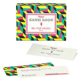 Wild & Wolf Inc. Games Room 80s Music Pop Quiz