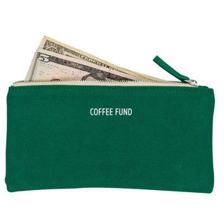 About Face Coffee Money Pouch