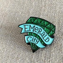 acbc Design Emerald City Enamel Pin