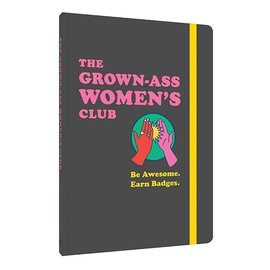 Chronicle Books Grown-ass Women's Club Journal