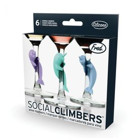 Fred Narwhal Wine Markers - Social Climbers