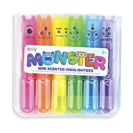 Ooly SALE Mini Monster Scented Highlighters