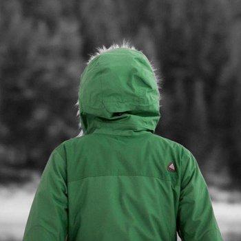Grüne Arcteryx Covert Hoody Frauen