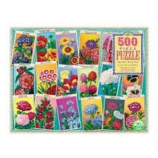 EEBOO:  Planting a Garden 500 pc Rectangle Puz