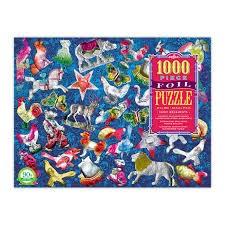 EEBOO: Shiny Ornaments 1000pc Foil Puzzle