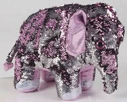 THE TOY NETWORK THE TOY NETWORK:  SEQUIN ELEPHANT
