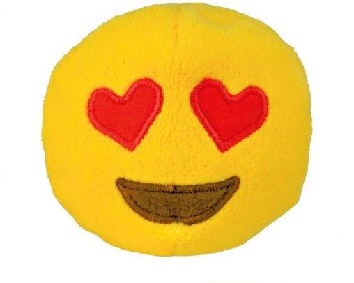 I LOVE EMOJI BEAN BAG: HEART EYES