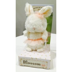 "BUNNIES BY THE BAY: Blossom Bunny - 7"" Hareytale Friends"
