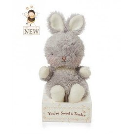 "BUNNIES BY THE BAY: Wittle Bunny - 5"" - classic gray"