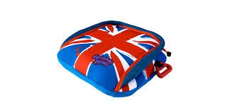 BUBBLEBUM INFLATABLE PORTABLE BOOSTER:  UNION JACK