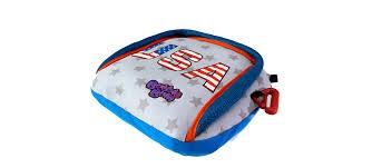 BUBBLEBUM INFLATABLE PORTABLE BOOSTER:  STARS AND STRIPES