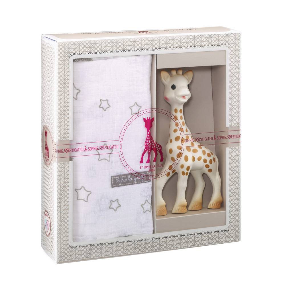CALISSON CALISSON: SO'PURE SOPHIE THE GIRAFFE MY FIRST GIFT SET