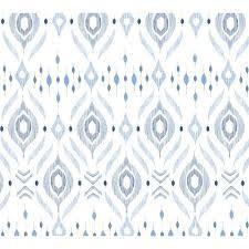 ANGEL DEAR:  BAMBOO SWADDLE BLANKET - -BLUE IKAT