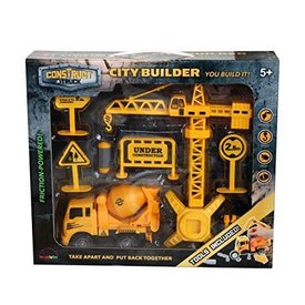 Construct A Truck - City Builder Mixer