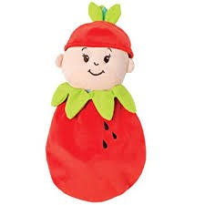 Wee Baby Stella Doll Fruit Suit Strawberry