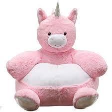 KIDS PREFERRED:- Plush Unicorn Chair