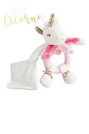 Dou Dou et Compagnie DOU DOU ET COMPAGNIE: Unicorn - Rattle With Doudou