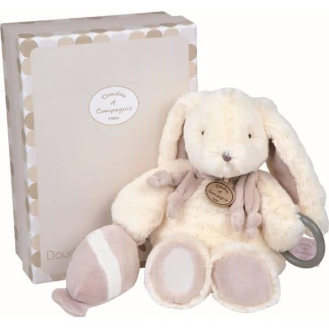Dou Dou et Compagnie DOU DOU ET COMPAGNIE: Rabbit - Doudou Taupe