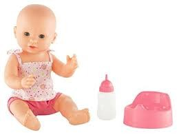 COROLLE: Emma Drink-and-Wet Bath Baby - NEW