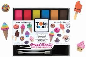 RELEVANT PLAY: Toki Dough-Bento Box: Sweet Treats