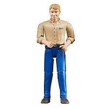 BRUDER:  MAN (LT SKIN BLUE JEANS)