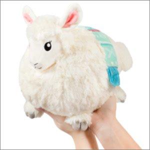 "SQUISHABLE: Mini Little Llama (7"")"
