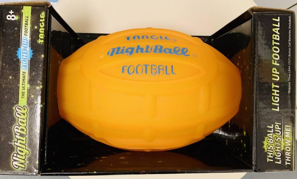 TANGLE:  NIGHTBALL FOOTBALL ORANGE