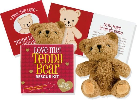 PETER PAUPER LOVE ME RESCUE KIT:  TEDDY BEAR