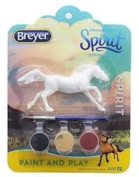 BREYER:  SPIRIT RIDING FREE PAINT AND PLAY (1 OF 3 ASST)
