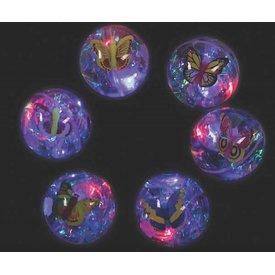 FUN EXPRESS Butterfly Light Up Water Glitter Ball